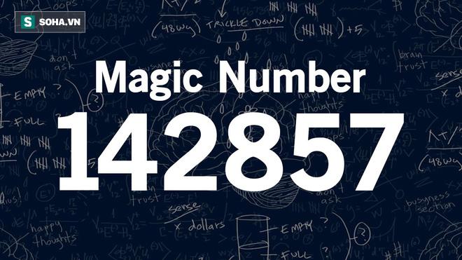 Đây là con số thần kỳ nhất vũ trụ, khi nhân với 7 sẽ ra kết quả rất kinh ngạc! - Ảnh 1.