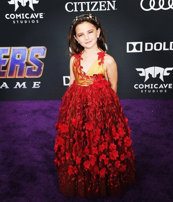 Cận cảnh nhan sắc của diễn viên nhí thủ vai con gái Iron Man trong Avengers: Endgame: Mỹ nhân tương lai là đây! - Ảnh 13.