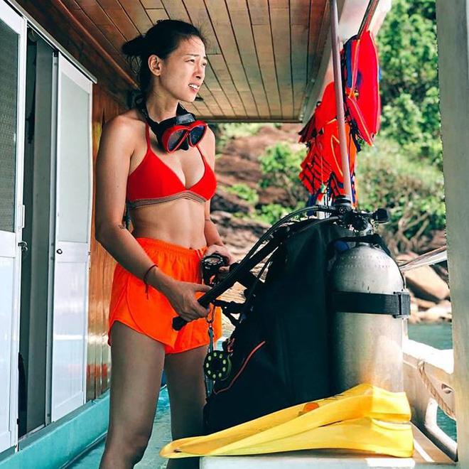 48 tuổi, Hoa hậu Giáng My vẫn tự tin diện bikini đọ dáng cùng đàn em - Ảnh 6.