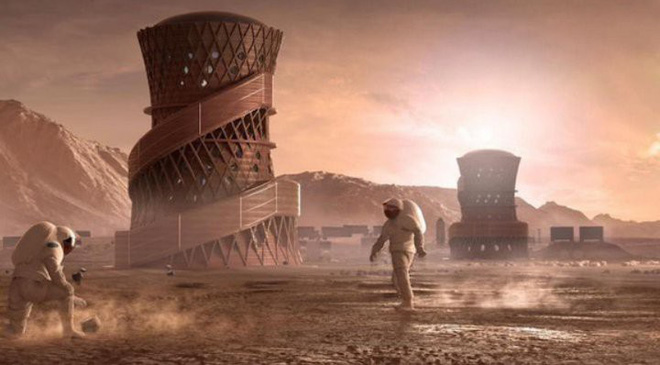 Ngắm 3 thiết kế nhà ở trên sao hỏa khả thi nhất vừa lọt vào chung kết cuộc thi của NASA - Ảnh 1.