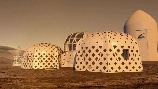 Ngắm 3 thiết kế nhà ở trên sao hỏa khả thi nhất vừa lọt vào chung kết cuộc thi của NASA - Ảnh 2.
