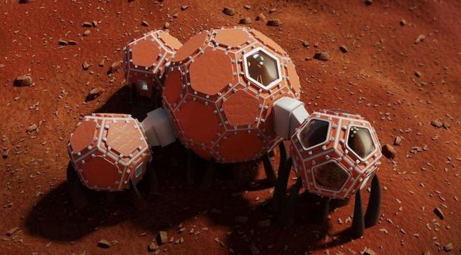 Ngắm 3 thiết kế nhà ở trên sao hỏa khả thi nhất vừa lọt vào chung kết cuộc thi của NASA - Ảnh 3.