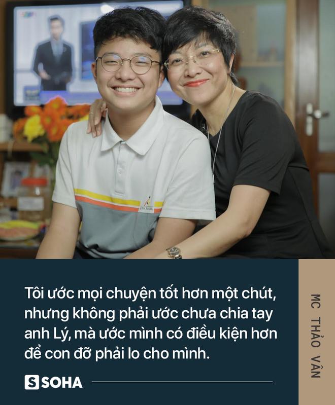 MC Thảo Vân: Bố của con mình giờ đã có người khác chăm sóc. Anh ấy hạnh phúc, con mình sẽ hạnh phúc - Ảnh 6.
