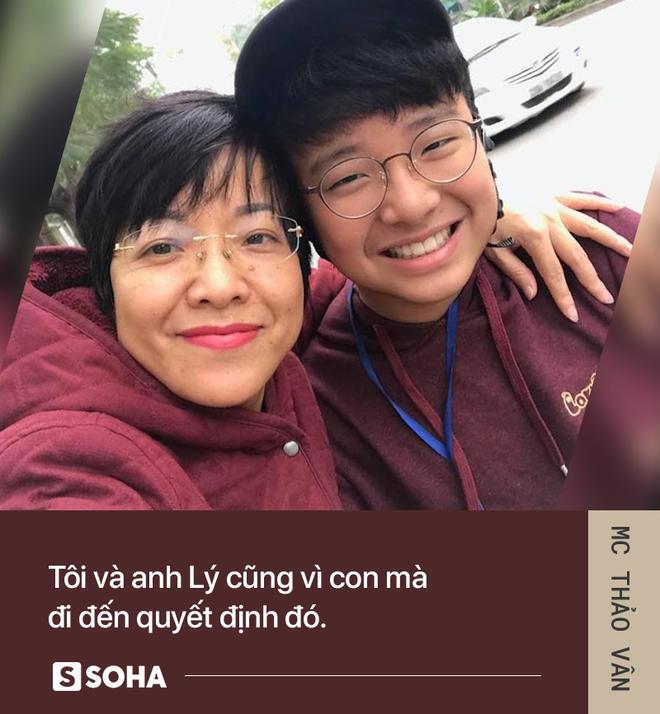 MC Thảo Vân: Bố của con mình giờ đã có người khác chăm sóc. Anh ấy hạnh phúc, con mình sẽ hạnh phúc - Ảnh 4.