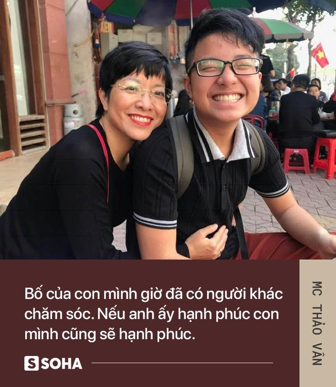 MC Thảo Vân: Bố của con mình giờ đã có người khác chăm sóc. Anh ấy hạnh phúc, con mình sẽ hạnh phúc - Ảnh 7.