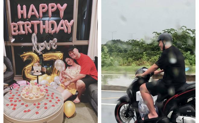 """Choáng với độ chiều vợ của người chồng trong bức ảnh """"đội mưa chạy xe máy đuổi theo taxi"""""""