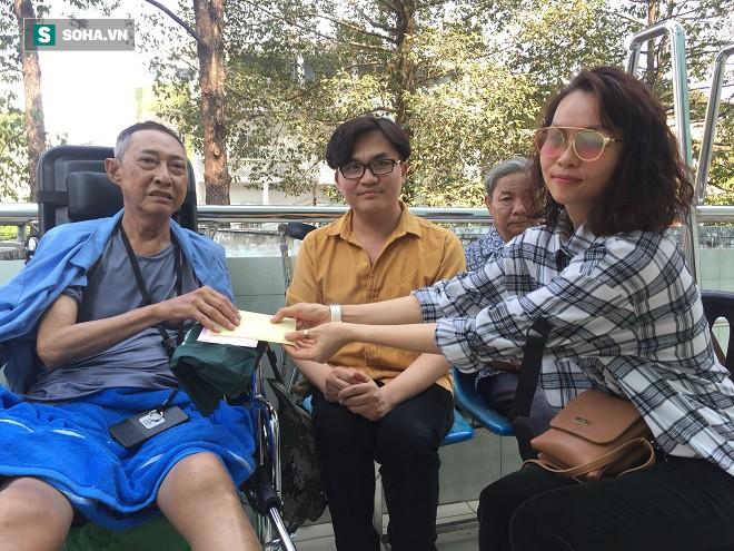 Sức khỏe nghệ sĩ Lê Bình chuyển biến nguy hiểm, MC Đại Nghĩa gửi tặng 270 triệu đồng - Ảnh 1.