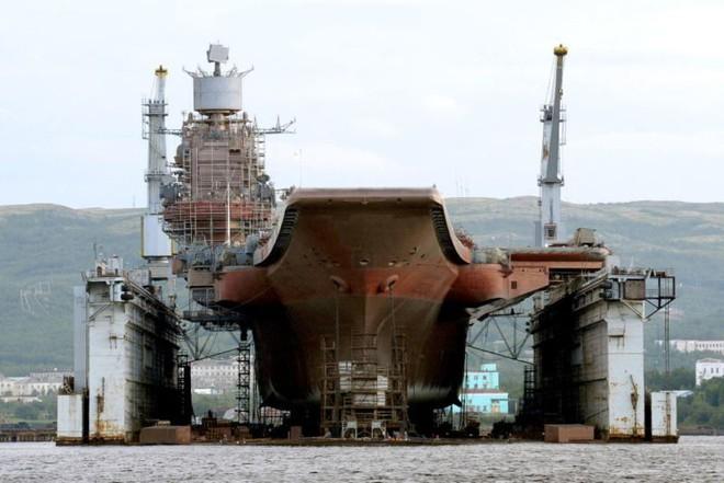 Động trời: Nga có thể xẻ thịt tàu sân bay Kuznetsov duy nhất làm sắt vụn - Lý do khó tin - Ảnh 2.