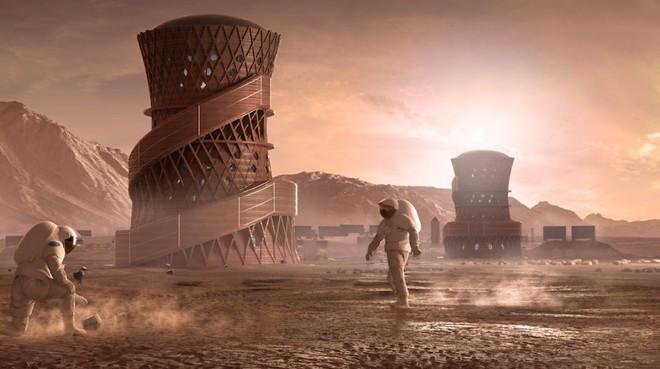 NASA khuyến khích ý tưởng dùng công nghệ in 3D tạo tiền đồn thám hiểm sao Hỏa - Ảnh 1.