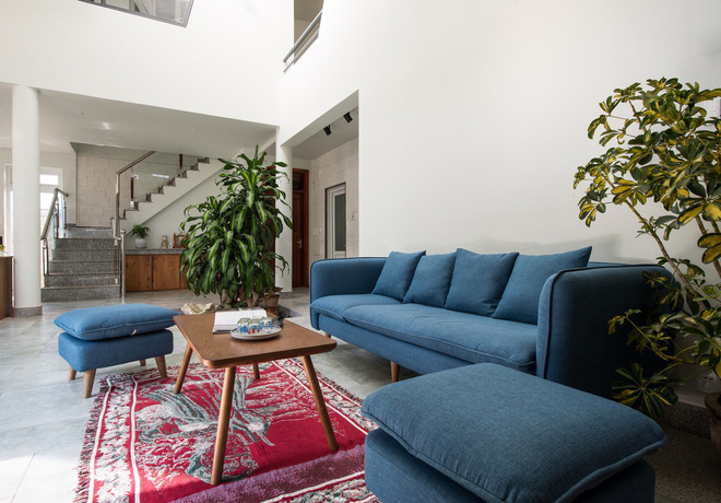 Thiết kế lạ khiến căn hộ này ở trong nhà nhưng cũng có cảm giác như đang ngoài trời - Ảnh 4.