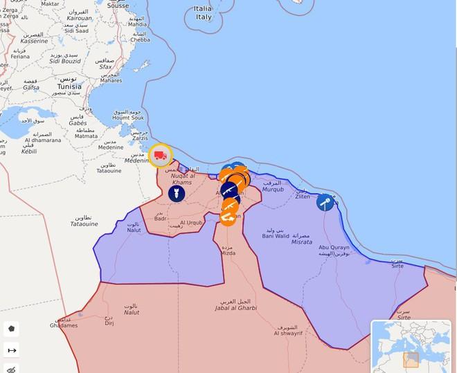 CẬP NHẬT: Chiến sự Libya nóng rẫy - Sân bay duy nhất còn hoạt động ở Tripoli bị không kích - Chặt đứt cầu hàng không - Ảnh 1.