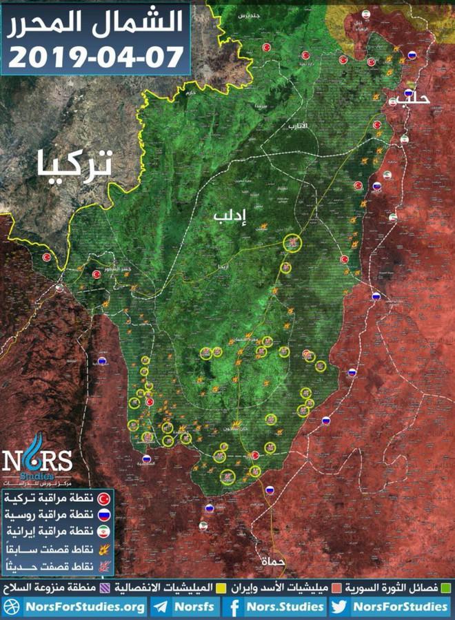 Cờ bí dí tốt: Nga-Syria đang chơi đòn dưới thắt lưng ở Idlib - Ảnh 1.