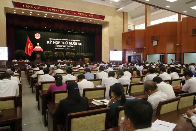 Đang họp bầu tân Chủ tịch HĐND TP HCM thay bà Nguyễn Thị Quyết Tâm - Ảnh 1.
