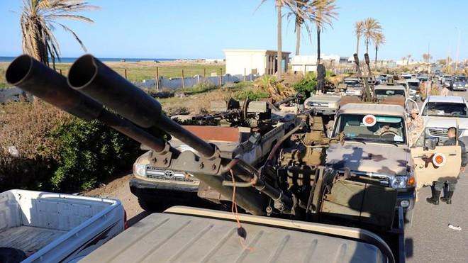 Libya: Mỹ đề nghị Tướng Haftar lập tức ngưng đánh Tripoli  - Ảnh 1.