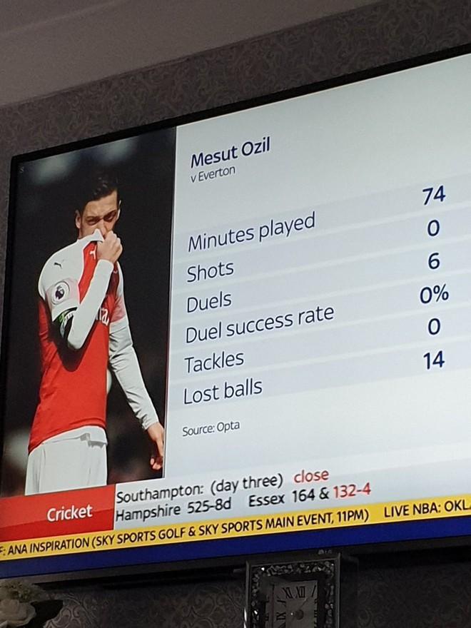 Sao Arsenal thẳng tay ném áo khoác về phía huấn luyện viên đội bạn - Ảnh 1.