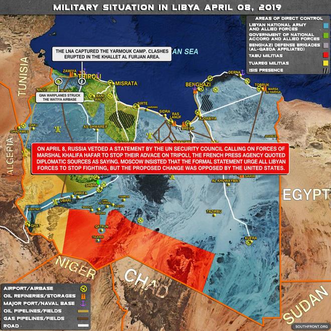 CẬP NHẬT: Chiến sự Libya nóng rẫy - Sân bay duy nhất còn hoạt động ở Tripoli bị không kích - Chặt đứt cầu hàng không - Ảnh 5.