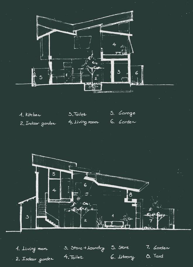 Thiết kế lạ khiến căn hộ này ở trong nhà nhưng cũng có cảm giác như đang ngoài trời - Ảnh 13.