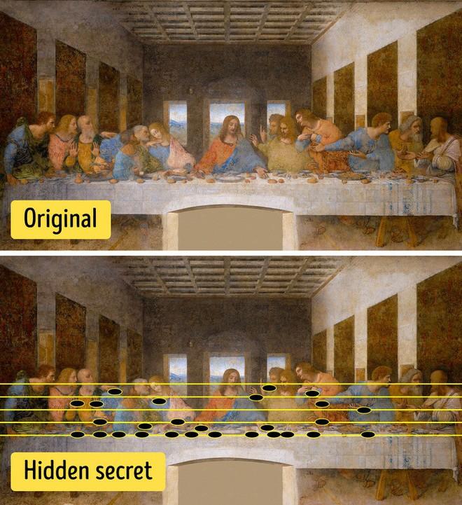 Mật mã ẩn trong tranh của Da Vinci: Hậu thế khó mà tưởng tượng được! - Ảnh 1.
