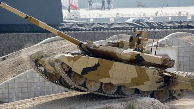 Đối diện chiến tranh tổng lực với Pakistan, Ấn Độ đổ tiền mua gần 500 xe tăng T-90 mới - Ảnh 1.