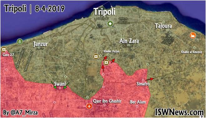 Chiến sự ác liệt ở Libya - Không quân 2 bên đánh tổng lực - Ảnh 16.