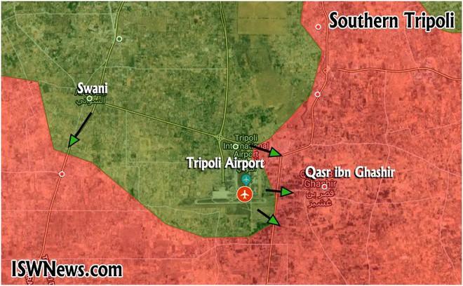 Chiến sự ác liệt ở Libya - Không quân 2 bên đánh tổng lực - Ảnh 7.