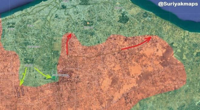Chiến sự ác liệt ở Libya - Không quân 2 bên đánh tổng lực - Ảnh 6.