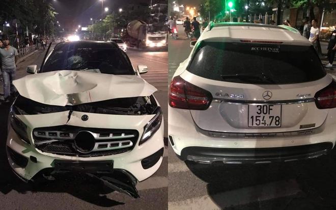 Vụ tài xế Mercedes đâm chết 2 người ở hầm Kim Liên: Nồng độ cồn cao vượt ngưỡng xử phạt - Ảnh 2.