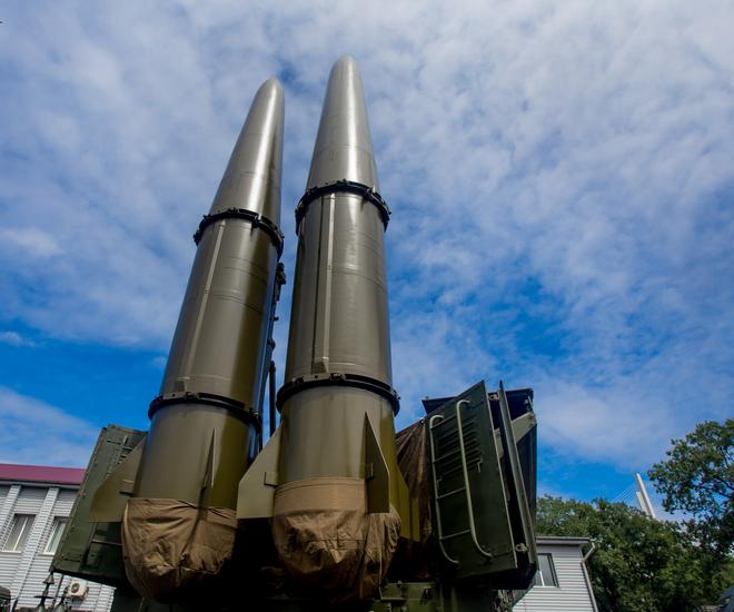 Triều Tiên thử vũ khí giống tên lửa đạn đạo Iskander của Nga? - Ảnh 1.