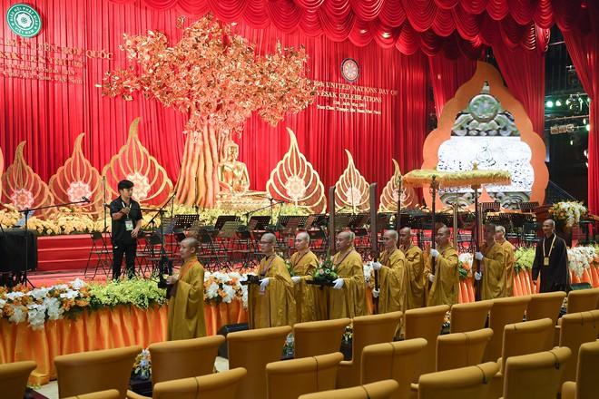 Hội trường sức chứa 3.000 người chùa Tam Chúc sẵn sàng cho giờ khai mạc Vesak - Ảnh 3.