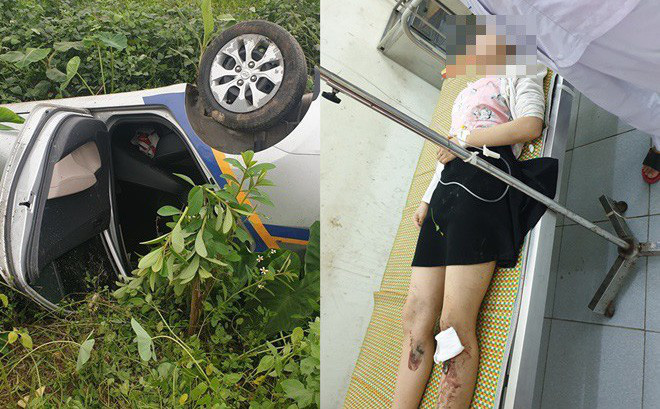 Cứu 2 vợ chồng từ chiếc taxi lật ngửa dưới ruộng, chia sẻ của người đàn ông còn gây bất ngờ hơn