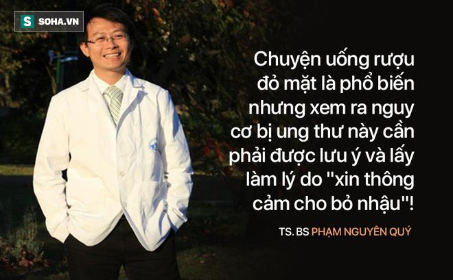 """Bác sĩ Việt tại Nhật: Uống rượu đỏ mặt - nguy cơ ung thư cao nhưng ít ai biết để bỏ """"nhậu"""""""