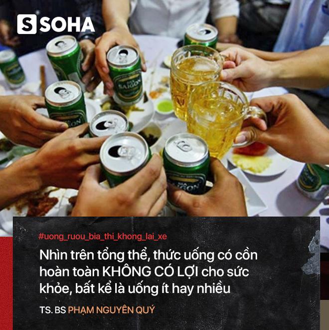 Bác sĩ Việt tại Nhật: Uống rượu đỏ mặt - nguy cơ ung thư cao nhưng ít ai biết để bỏ nhậu - Ảnh 4.