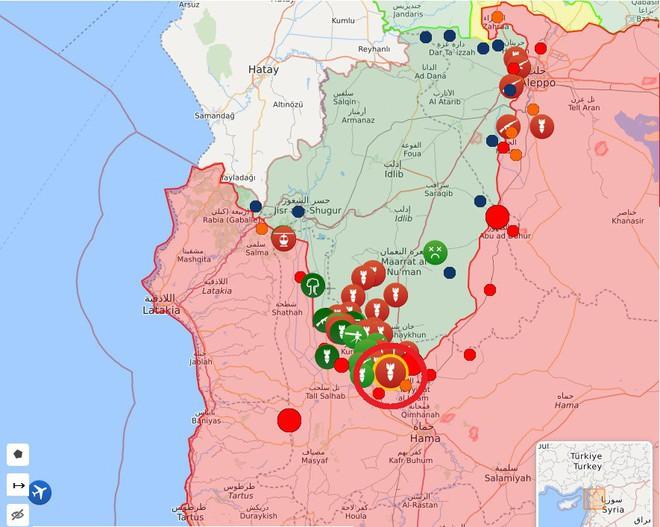 Chiến sự Syria nóng hơn bao giờ hết - Phiến quân thua thảm, Tổng thống TNK gọi điện cho TT Nga Putin - Ảnh 6.