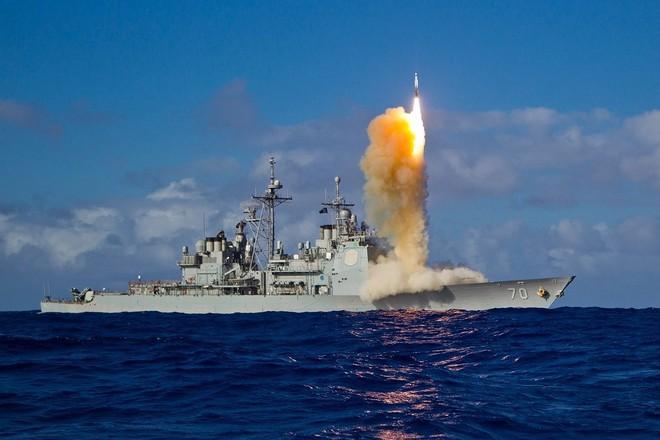 Mỹ phóng tên lửa 'sát thủ' đánh chặn ngoài tầng khí quyển thị uy trước Nga - Ảnh 12.