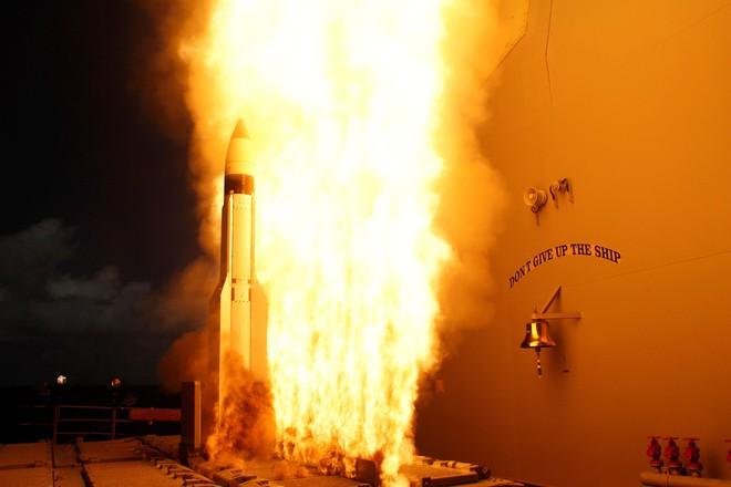 Mỹ phóng tên lửa 'sát thủ' đánh chặn ngoài tầng khí quyển thị uy trước Nga - Ảnh 5.