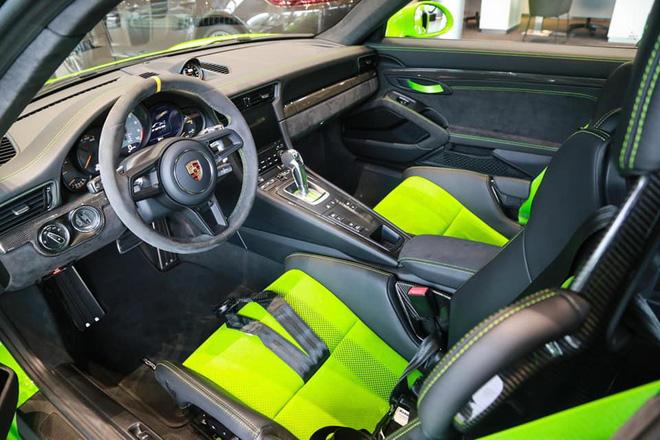 Cận cảnh Porsche 911 GT3 RS hàng hiếm, giá 14 tỷ đồng ở Hà Nội - Ảnh 3.