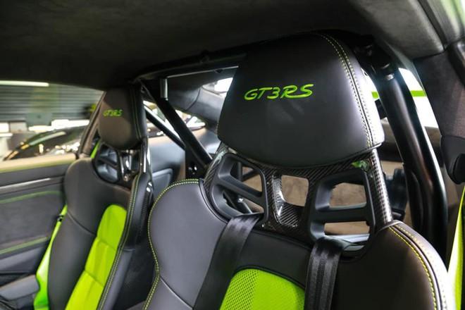 Cận cảnh Porsche 911 GT3 RS hàng hiếm, giá 14 tỷ đồng ở Hà Nội - Ảnh 4.