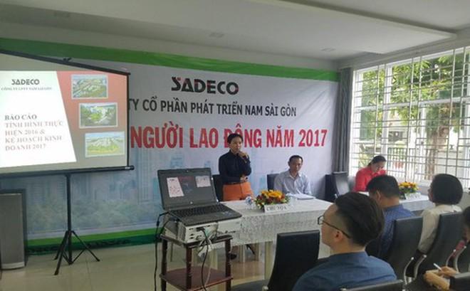 Bắt tạm giam Tổng giám đốc Công ty Cổ phần phát triển Nam Sài Gòn (Sadeco)