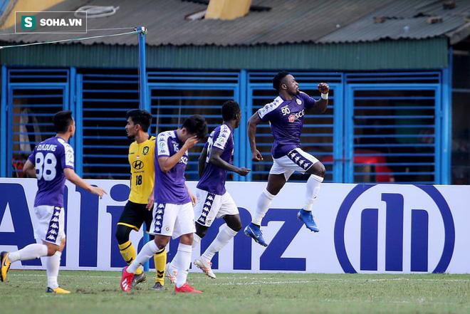 Hà Nội FC đè bẹp cường địch, hiên ngang đi tiếp ở giải châu Á - Ảnh 1.