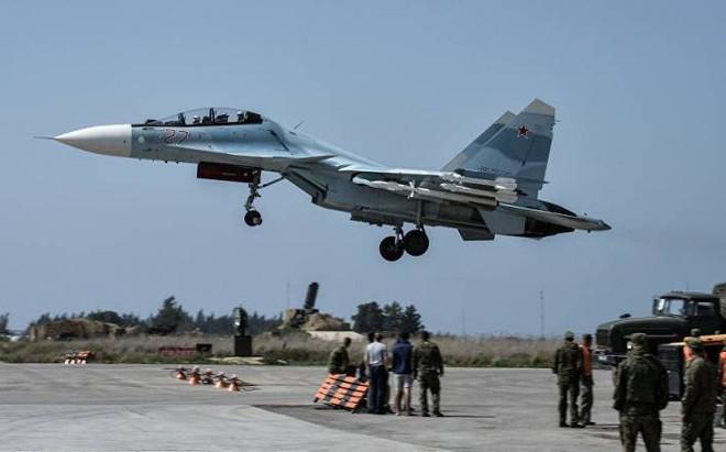 Chiến sự Syria: Nga bất ngờ xây dựng boongke mới ở căn cứ Hmeimim giữa căng thẳng leo thang
