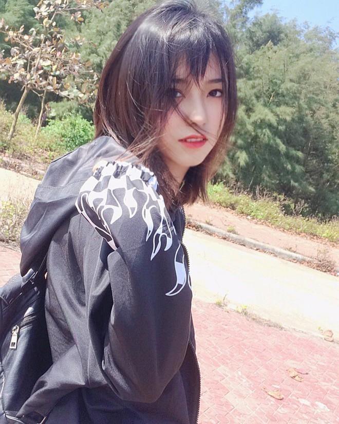 Nữ sinh 2001 được báo Trung gọi là cực phẩm hot girl với nhan sắc trong sáng tựa nữ chính phim thanh xuân vườn trường - Ảnh 5.