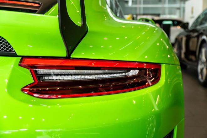 Cận cảnh Porsche 911 GT3 RS hàng hiếm, giá 14 tỷ đồng ở Hà Nội - Ảnh 8.