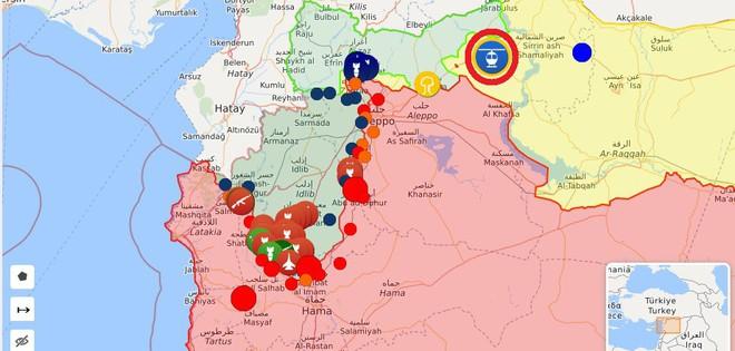 QĐ Syria quyết nhổ cái gai Kabani - Hôm nay đánh lớn nhưng thất bại, trực thăng Mỹ xuất hiện - Ảnh 1.