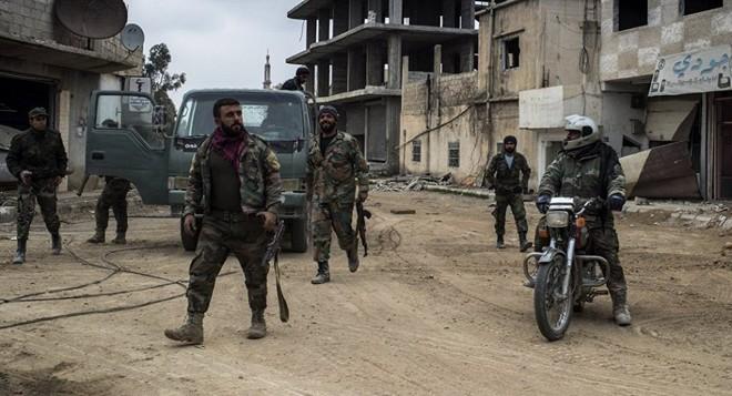 QĐ Syria quyết nhổ cái gai Kabani - Hôm nay đánh lớn nhưng thất bại, trực thăng Mỹ xuất hiện - Ảnh 13.