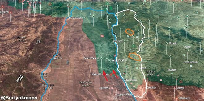 QĐ Syria quyết nhổ cái gai Kabani - Hôm nay đánh lớn nhưng thất bại, trực thăng Mỹ xuất hiện - Ảnh 14.