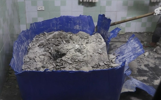 Đã có kết quả ADN 2 thi thể bị đúc trong khối bê tông, một người ở Nghệ An, một người ở TP.HCM