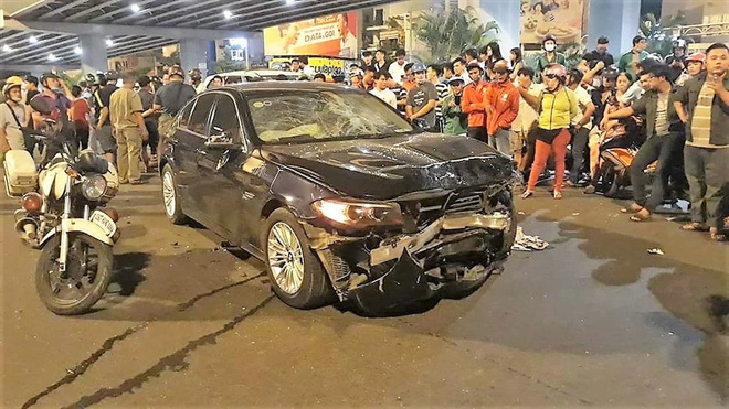 Nữ đại gia say xỉn lái xe BMW gây tai nạn ở hàng Xanh đối diện 10 năm tù - Ảnh 1.