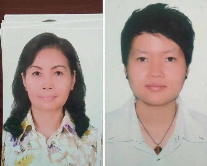 Cận mặt 2 người phụ nữ bí ẩn liên quan vụ 2 thi thể đổ bê tông trong thùng nhựa - Ảnh 1.
