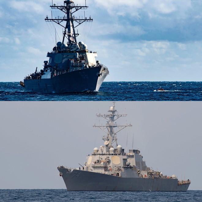 Iran nóng rẫy: Tàu khu trục Mỹ chất đầy tên lửa  Tomahawk đã áp sát Vịnh Ba Tư! - Ảnh 1.