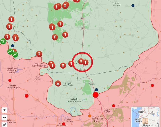 Syria nóng - Máy bay hiện đại nhất Hải quân Mỹ xuất hiện ngoài khơi, thiết giáp Thổ Nhĩ Kỳ thọc sâu tận Hama - Ảnh 8.